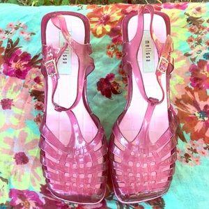 Rare Vintage Melissa Jelly Heels